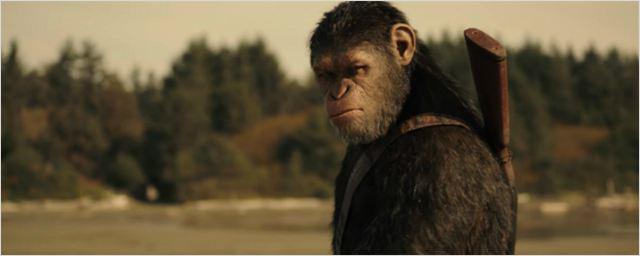 Dramático teaser do trailer de Planeta dos Macacos: A Guerra anuncia a batalha final