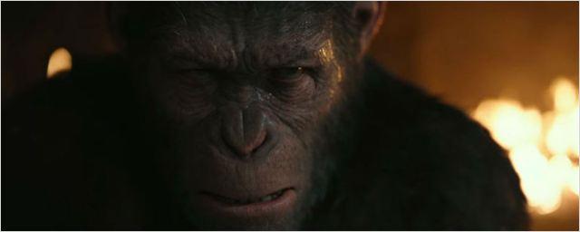 Não há paz ou misericórdia no trailer final de Planeta dos Macacos: A Guerra