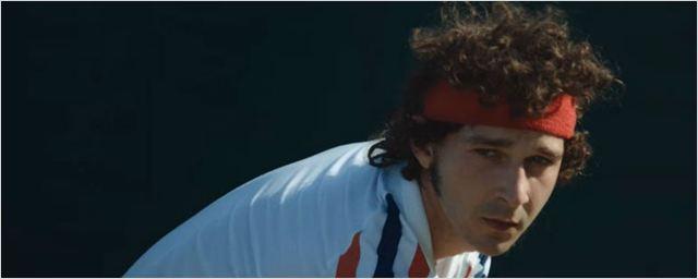 Shia LaBeouf é um tenista temperamental no teaser de Borg/McEnroe