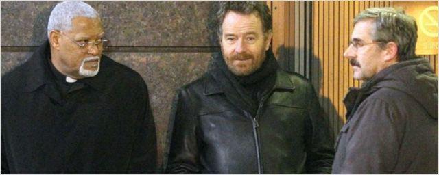 Bryan Cranston, Steve Carell e Laurence Fishburne aparecem na primeira imagem do novo filme de Richard Linklater