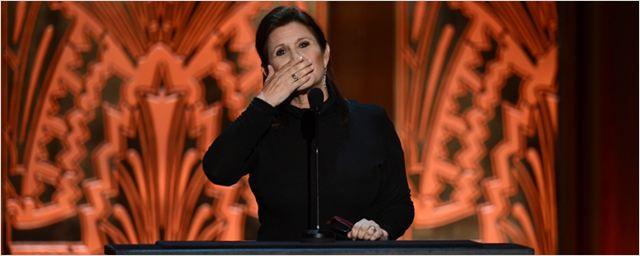 Carrie Fisher recebeu uma indicação póstuma ao Emmy
