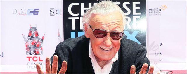 Stan Lee é homenageado em Hollywood