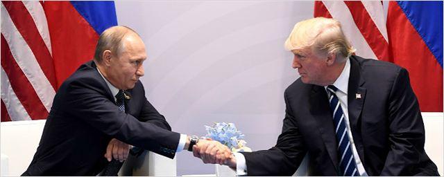 Dois novos filmes de Hollywood decidiram cortar o presidente russo Vladimir Putin de suas histórias