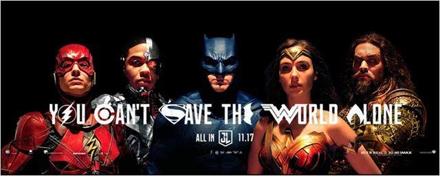 Comic-Con 2017: Heróis lado a lado em novo pôster de Liga da Justiça!