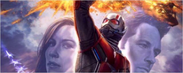 Comic-Con 2017: Homem-Formiga e a Vespa em ação no primeiro cartaz oficial