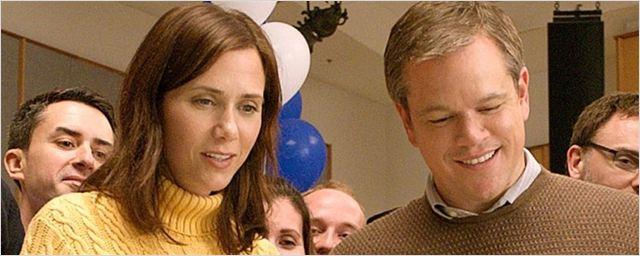 Downsizing: Veja a primeira imagem do sci-fi satírico estrelado por Matt Damon e Kristen Wiig