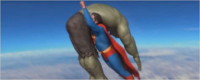 Superman enfrenta Hulk em caprichado vídeo feito por fã