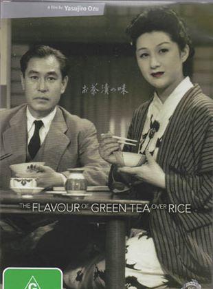 O Sabor do Chá Verde Sobre o Arroz