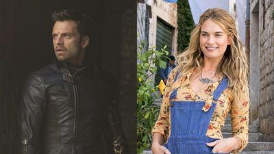 Astros da Marvel e da Disney, Sebastian Stan e Lily James surgem irreconhecíveis em série de TV