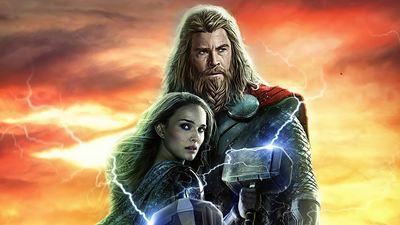 Thor - Love and Thunder: Visuais de Thor e Jane Foster são revelados em arte da produção