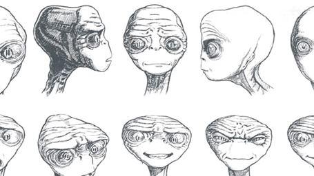 Desenhista divulga arte conceitual de E.T. - O Extraterrestre
