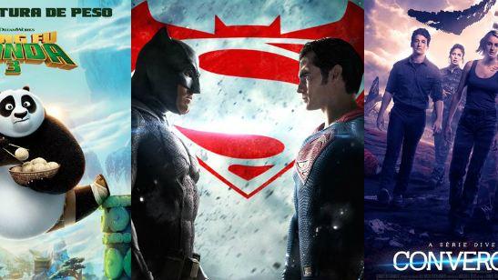 Estreias de março nos cinemas Batman vs Superman e Kung Fu Panda 3