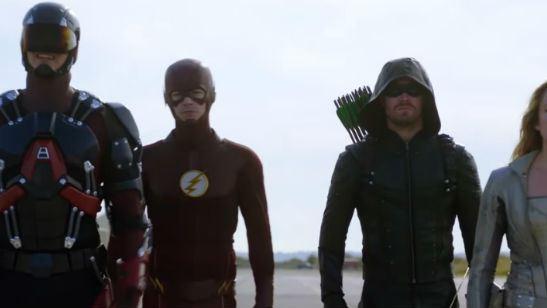 Heróis enfrentam alienígenas em novo trailer do crossover de Supergirl, Arrow, The Flash e Legends of Tomorrow