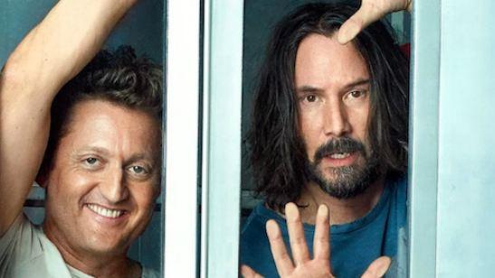 Alex Winter e Keanu Reeves estarão juntos novamente em Bill & Ted 3