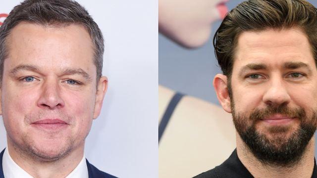 Matt Damon pode interpretar controverso bilionário em filme produzido por John Krasinski