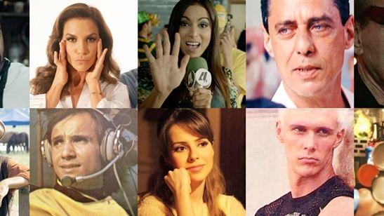 Relembre as trajetórias nos cinemas de 22 cantores brasileiros