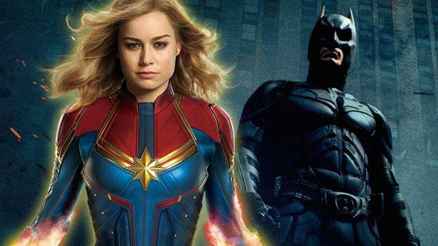 Capitã Marvel supera Batman - O Cavaleiro das Trevas Ressurge nas bilheterias mundiais