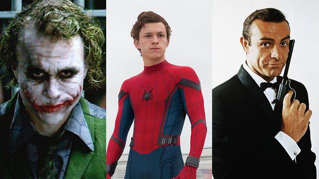 Personagens que já foram interpretados por mais de um ator