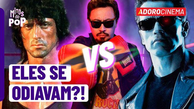 Mitos do Pop: Stallone e Schwarzenegger se odiavam?