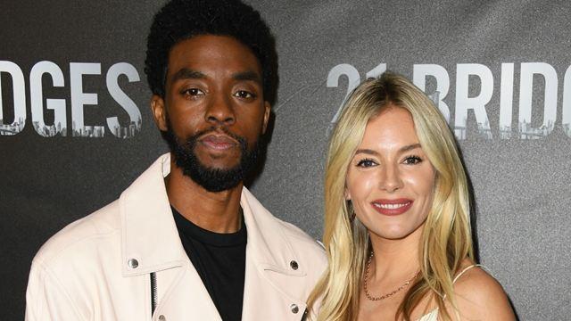 Chadwick Boseman doou parte do seu cachê para aumentar salário de Sienna Miller