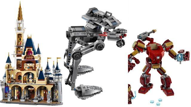 Black Friday: Legos da Disney e Marvel entram em promoção hoje na Amazon