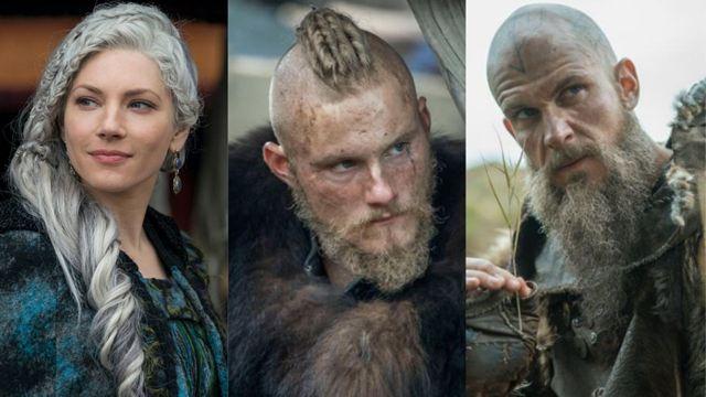 Vikings: Antes e depois dos protagonistas após 6 temporadas