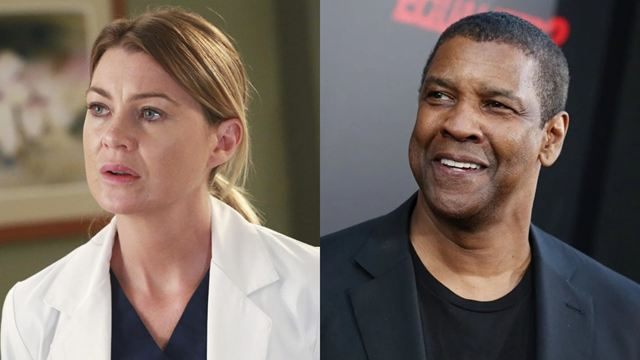"""Ellen Pompeo brigou com Denzel Washington no set de Grey's Anatomy: """"Escute, filho da p*ta, esta é a minha série!"""""""