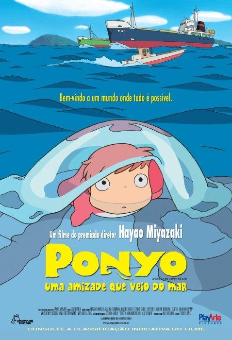 Ponyo - Uma Amizade que Veio do Mar - Filme 2008 - AdoroCinema