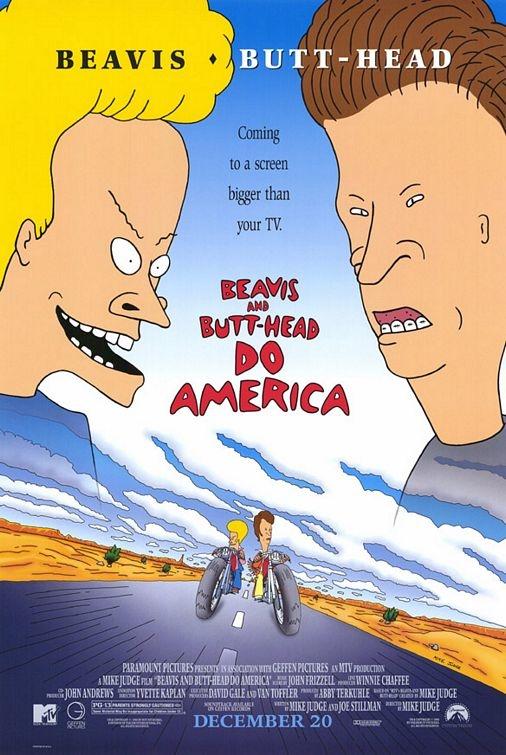 Beavis e Butt-Head Detonam a América - Filme 1996 - AdoroCinema