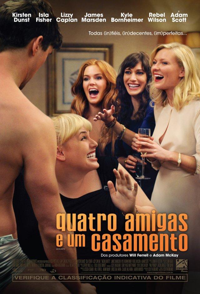 Quatro Amigas e um Casamento - Filme 2012 - AdoroCinema