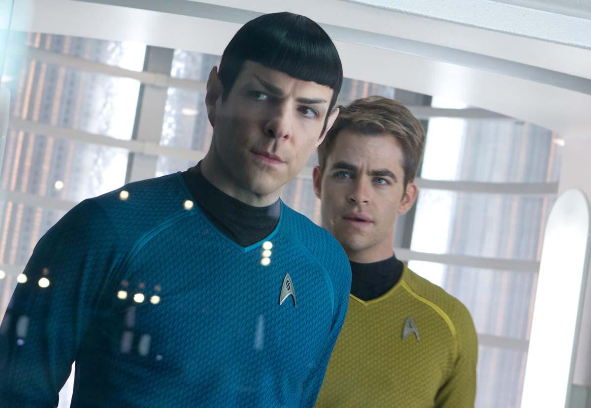 Foto de Zachary Quinto - Além da Escuridão - Star Trek : Foto Chris Pine,  Zachary Quinto - AdoroCinema