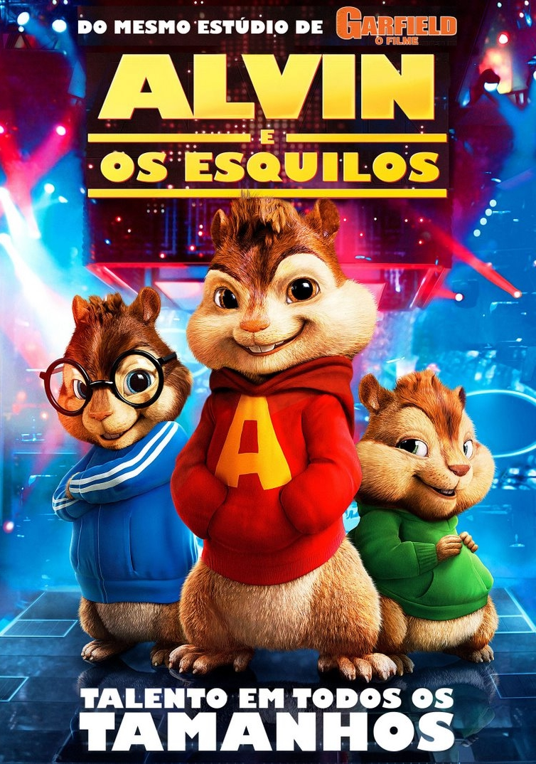 Alvin E Os Esquilos Filme 2007 Adorocinema