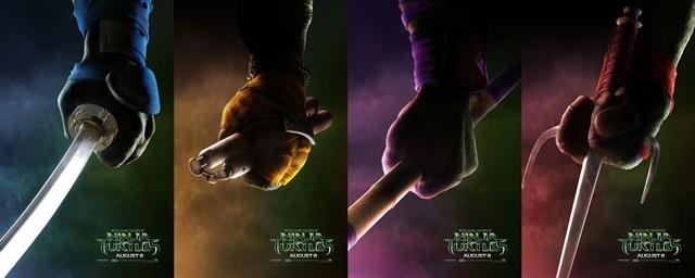 As Tartarugas Ninja Armas De Leonardo Michelangelo Donatello E
