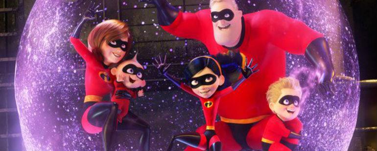 Os Incríveis 2: Família Pêra surge ainda mais divertida e