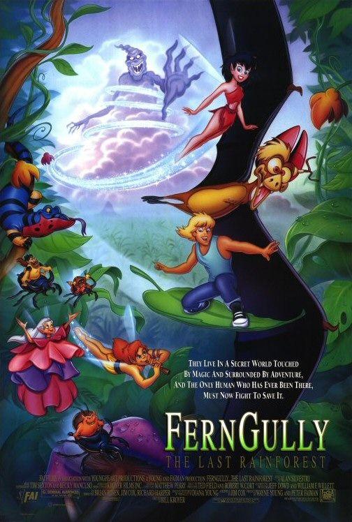 Ferngully - As Aventuras de Zack e Crysta na Floresta Tropical - Filme 1992  - AdoroCinema