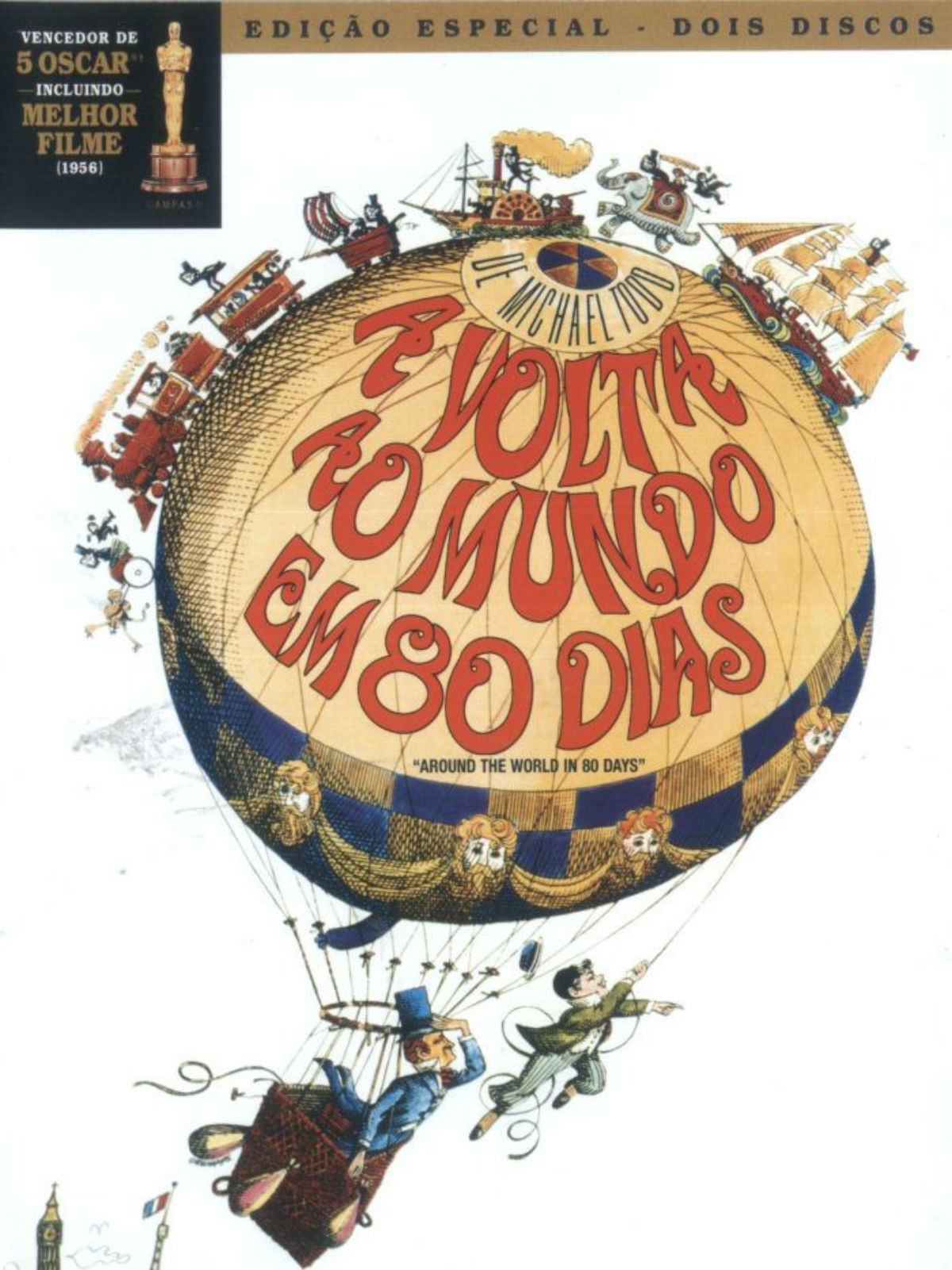 A Volta ao Mundo em 80 Dias - Filme 1956 - AdoroCinema