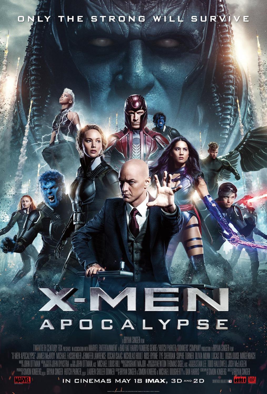 Assistir X-Men: Apocalypse Dublado Online 2016 Grátis
