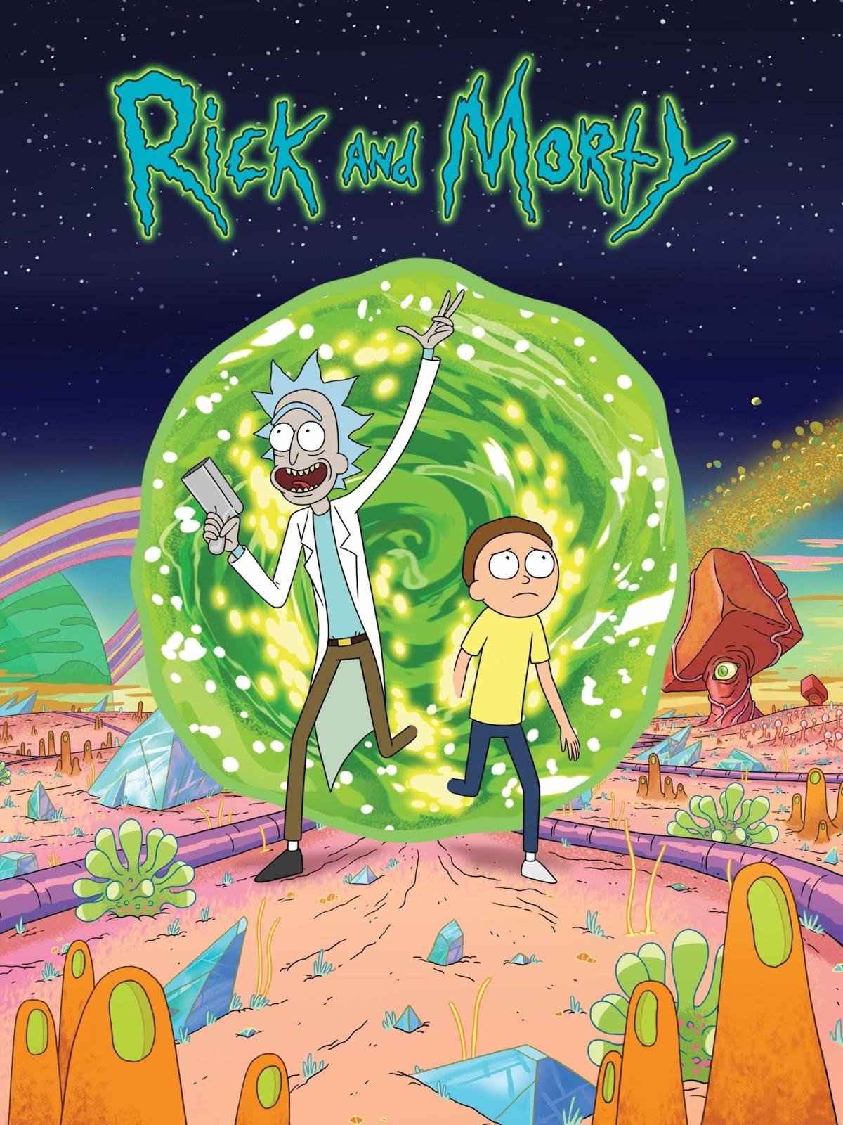 Rick And Morty Serie 2014 Adorocinema