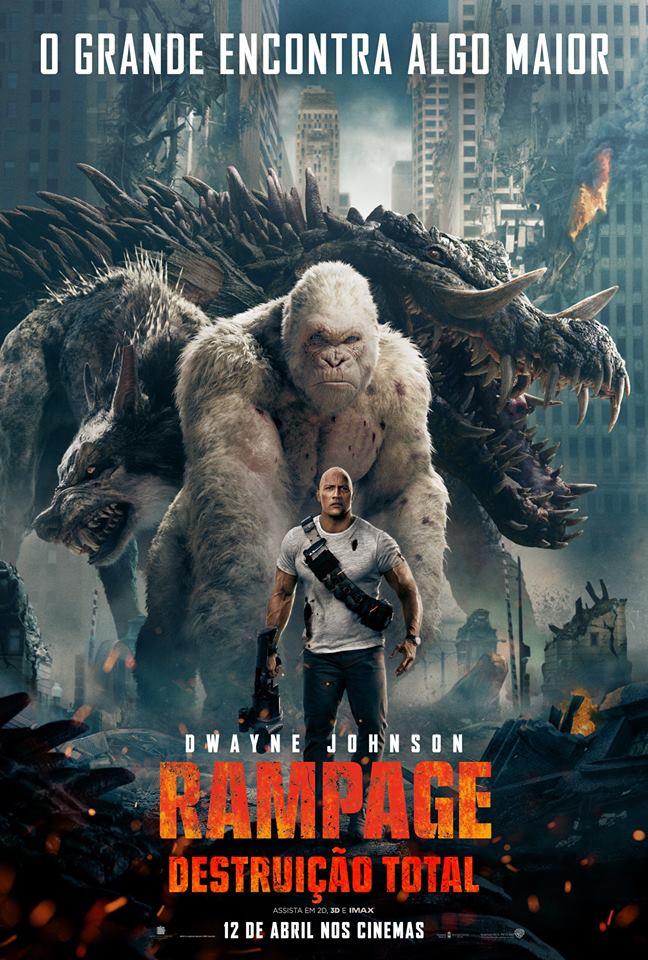 Rampage: Destruição Total - Poster
