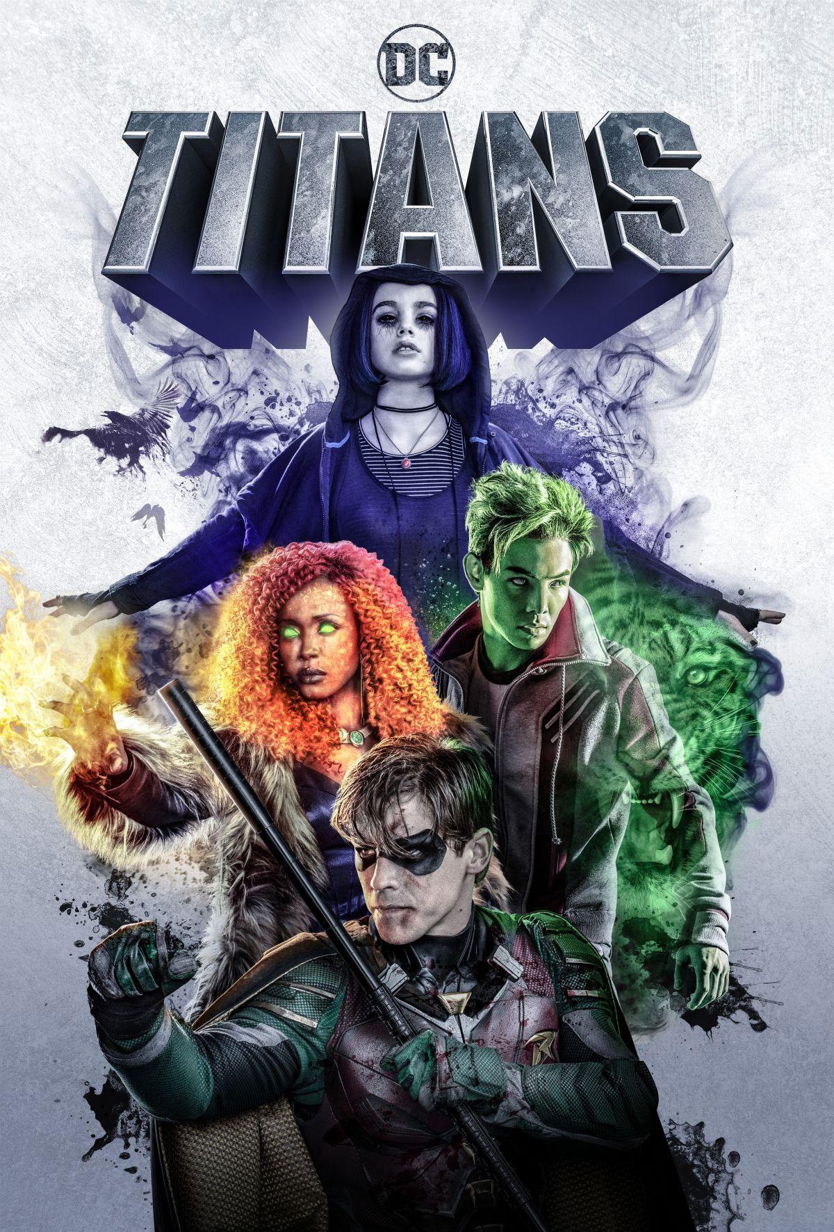 Titans Serie 2018 Adorocinema