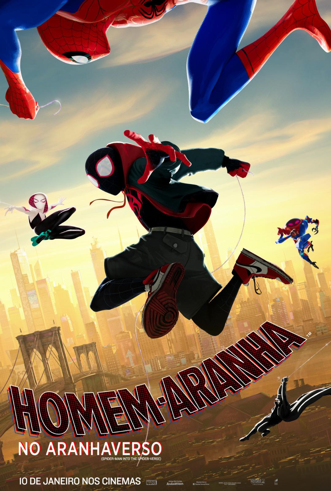 Homem Aranha No Aranhaverso Filme 2018 Adorocinema