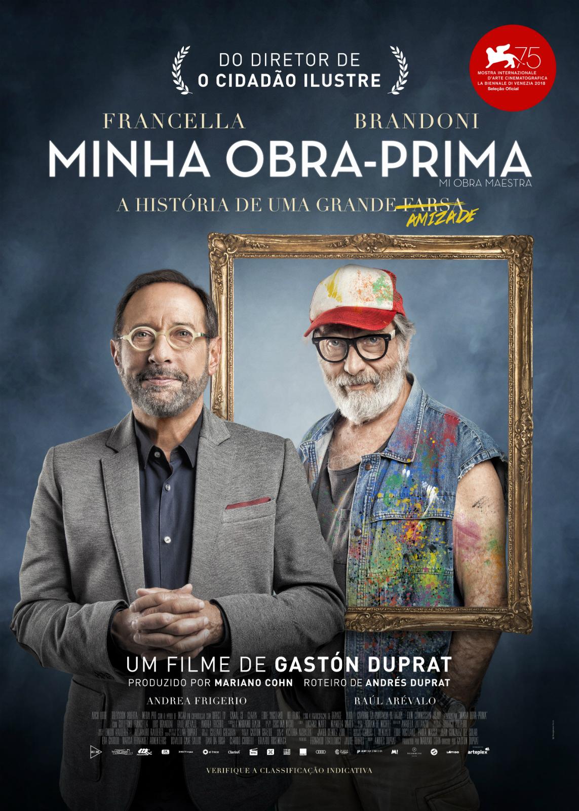 Minha Obra-prima - Filme 2018 - AdoroCinema