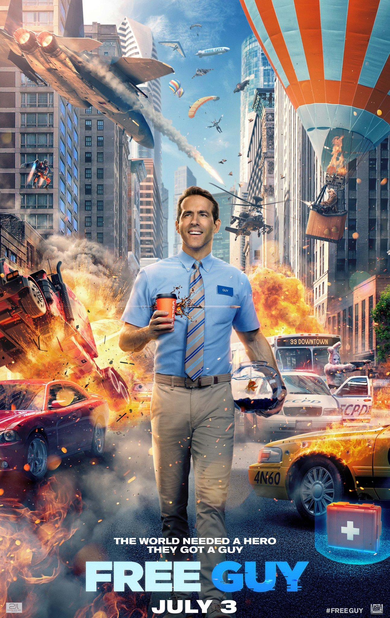 Free Guy - Assumindo o Controle - Filme 2020 - AdoroCinema