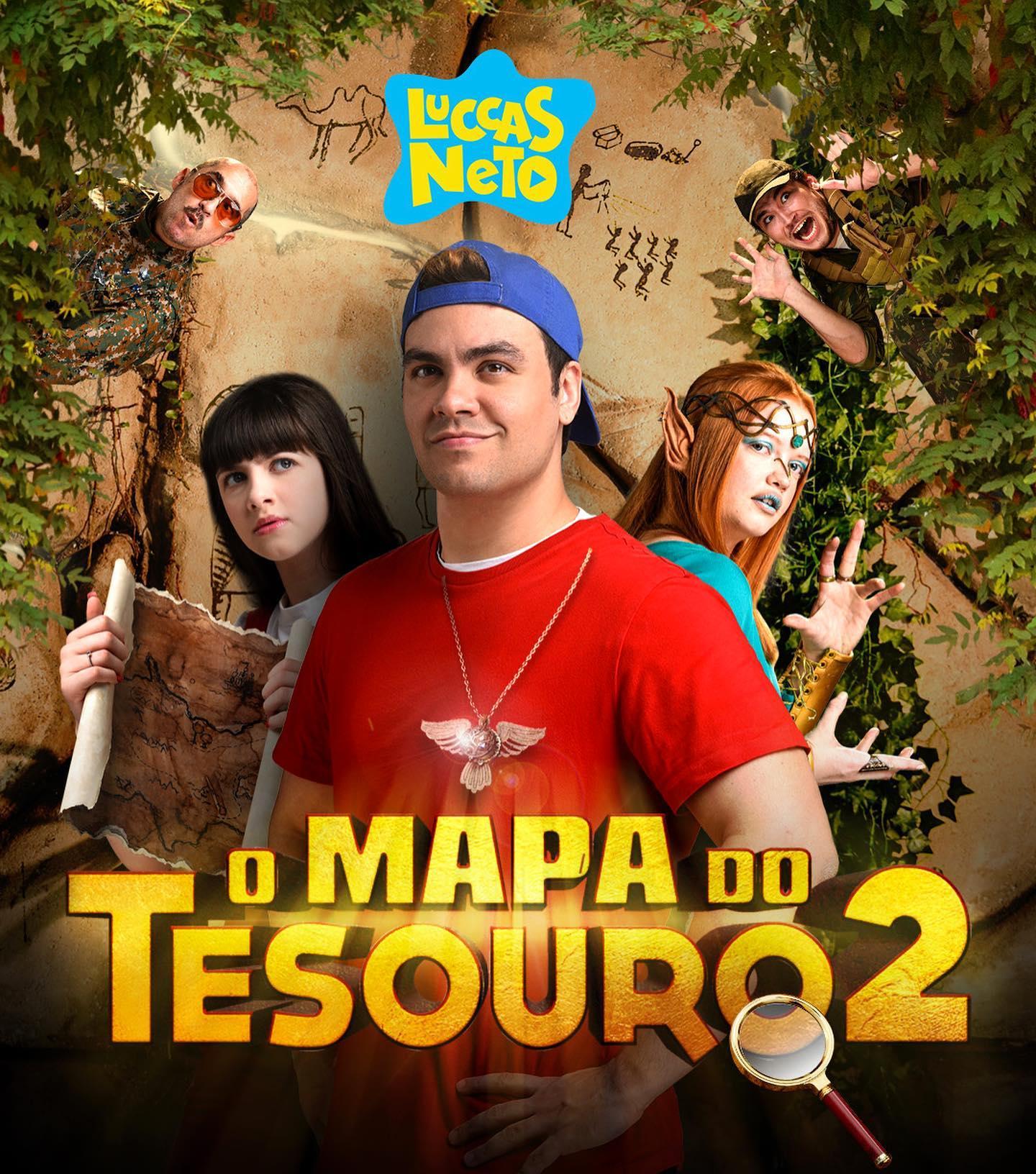 Luccas Neto em: O Mapa do Tesouro 2 - Filme 2021 - AdoroCinema