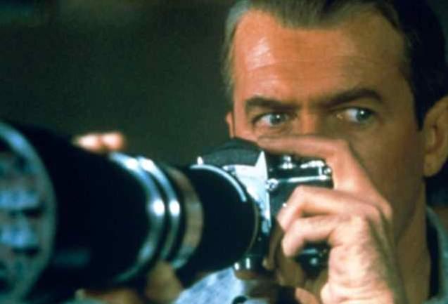Janela Indiscreta: James Stewart