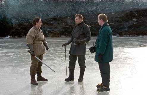 Batman Begins : Foto Christian Bale, Christopher Nolan, Liam Neeson