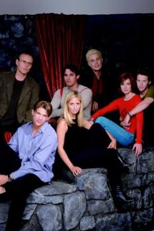 Buffy, a Caça-Vampiros : Foto Alyson Hannigan, Anthony Head, James Marsters, Marc Blucas, Nicholas Brendon
