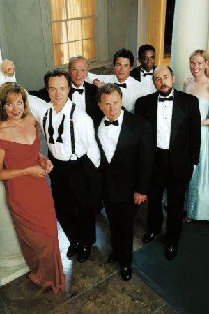 The West Wing : Foto Allison Janney, Bradley Whitford, Dule Hill, Janel Moloney, John Spencer