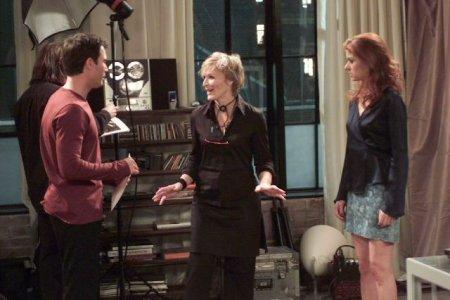 Will & Grace : Foto Debra Messing, Eric McCormack, Glenn Close