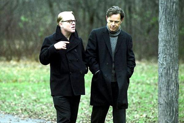 Capote : Foto Bruce Greenwood, Philip Seymour Hoffman